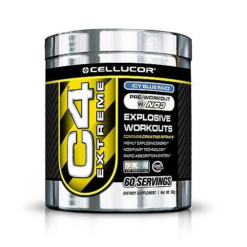 Cellucor C4 Extreme 60 Servings - Blue Raspberry