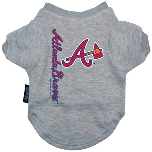 USA Wholesaler - DN-30919124-L - Atlanta Braves Dog Tee Shirt - Large at Amazon.com