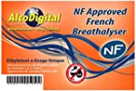 French NF Approved Breathalyzer 5 pac...
