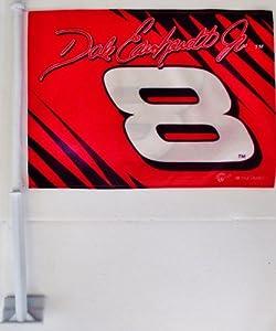 Dale Earnhardt Jr Car Flag by Winner