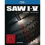Saw I - V Collection [Blu-ray]