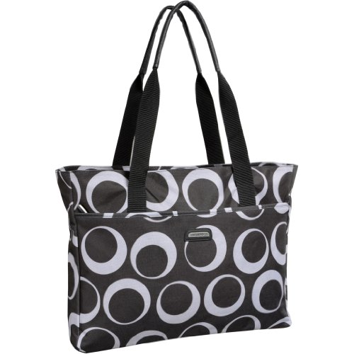 WallyBags Women's Tote, Graphite, One Size