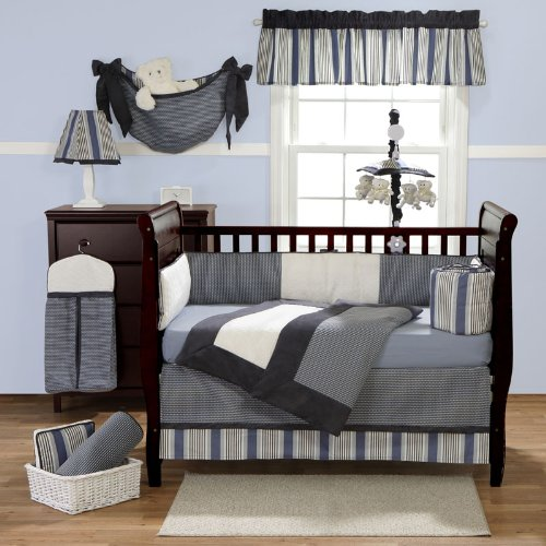 Benjamin 3-Piece Crib Bedding Set by Bananafish