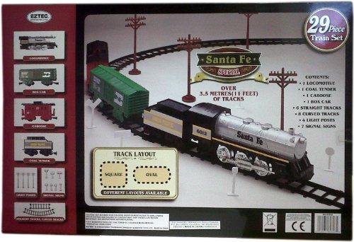 EZ-Tec Santa Fe Special 29 Piece Train Set