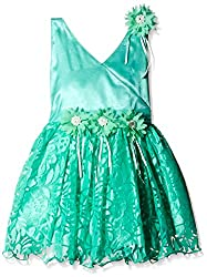 Atayant Girl Evening Dress (ATAYK_008_5:6YR_Sea Green_XL)