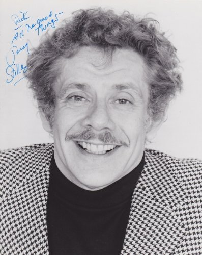 Jerry Stiller Autographed / Hand Signed 8X10 Photo - With Rick, All The Good Things By Ben Stiller'S Dad
