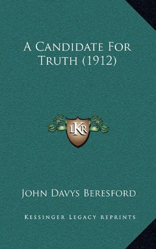 A Candidate for Truth (1912)