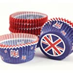 Muffin Backf�rmchen Union Jack, Muffi...