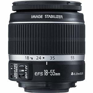 Canon EF-S 18-55 IS STM Objectif 55 Noir