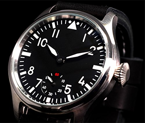 Parnis Luminous Men'S Army Mechanical Watch M222S Seagull St3600 Movement