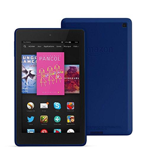 "Fire HD 6, écran HD 6"" (15,2 cm), Wi-Fi, 8 Go (Bleu cobalt)"