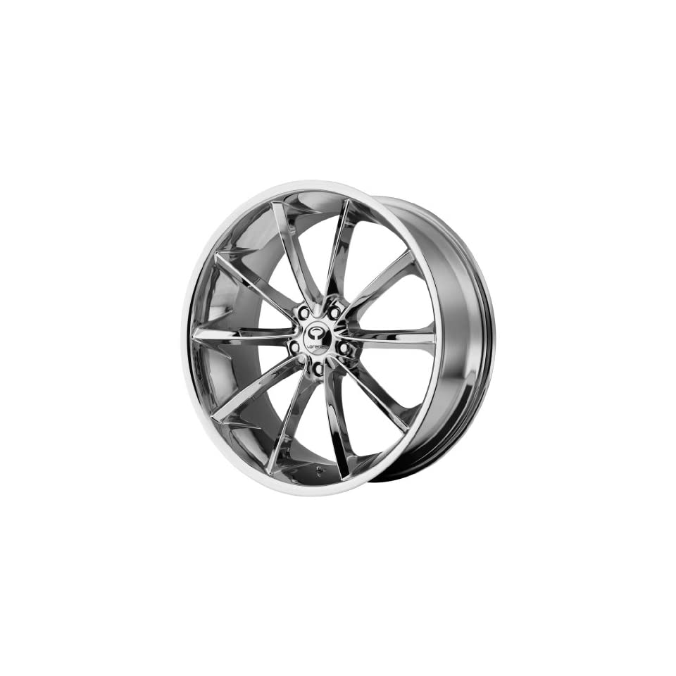 Lorenzo WL032 20x8.5 Chrome Wheel / Rim 5x112 with a 35mm Offset and a 72.60 Hub Bore. Partnumber WL03228556235 Automotive