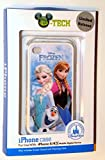 NEW Disney D-tech World WDW Parks Authentic 2014 Frozen Olaf Elsa Anna Iphone 4 Phone Hard Case & Screen Guard Cleaning Cloth & Bonus Disney Dumbo Dollar
