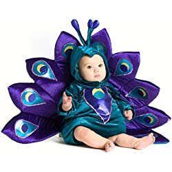 Princess Paradise Unisex Baby Peacock, Purple/Blue, 18 Months/2T
