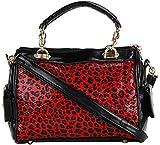 Louise & Harris Handbag (Red & Black)