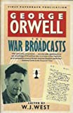 The War Broadcasts (0140098305) by Orwell, George