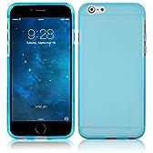 ahha 日本正規品 iPhone6s Plus / iPhone6 Plus 5.5 inch 両対応 Gummi Shell Case MOYA, Clear Blue 【やわらかく ハリのある 半透明 TPU素材製 ソフト ケース】 グミ シェル ケース, クリアー ブルー A-GSIH655-0M03