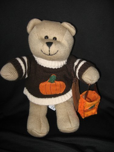 "Starbucks Autumn Bearista 10"" Plush Bear - 1"