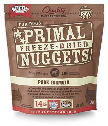 Primal Pet Foods Freeze-Dried Canine Pork Formula, 14 oz (Primal Freeze Dried Food compare prices)