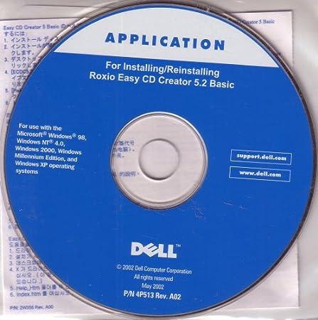 Roxio Easy CD Creator 5.2 Basic Rev. A02