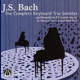 Johann Sebastian Bach: The Keyboard Trio Sonatas