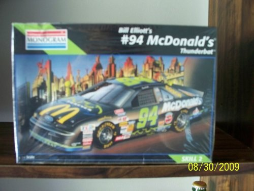 Bill Elliott #94 McDonalds Thunderbat by Monogram