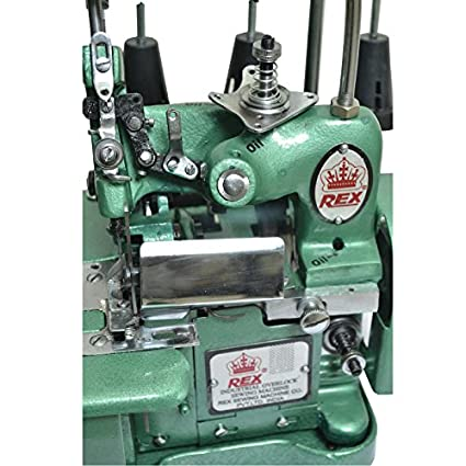 Rex Overlock Model Manual Sewing Machine