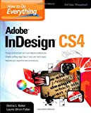 Donna Baker How To Do Everything Adobe InDesign CS4