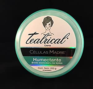 Amazon.com : Teatrical Crema Celulas Madre Humectante (Huge 400G Value