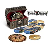 Pirates of the Caribbean Four-Movie Collection (Blu-ray + Digital Copy) ~ Johnny Depp