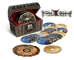 Pirates of the Caribbean Collection (15-Disc Box Set) [Blu-ray 3D + Blu-ray + DVD + Bonus Disc + Digital Copy]