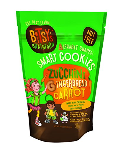 Bitsy's Brainfood Cookie Zucchini Gingerbread Carrot, 5 Ounce (Bitsy Brain Food compare prices)