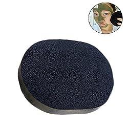 Futaba Bamboo charcoal Facial Cosmetic Puff