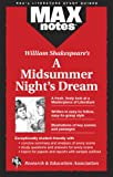 img - for Midsummer Night's Dream, A (MAXNotes Literature Guides) book / textbook / text book