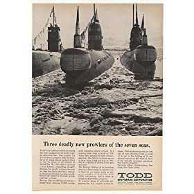 1969 Russian Submarine Fleet at Todd Shipyards