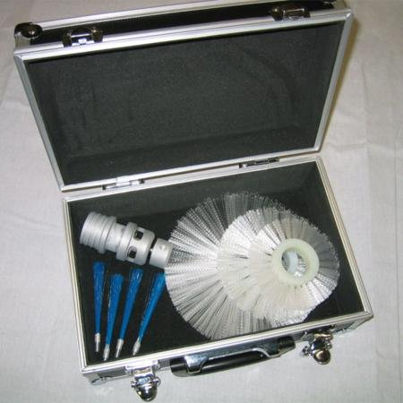 Air Duct Cleaning Equipment TurboBrite Silver Vacuum Driven Tool