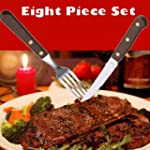 Restaurant Quality 8 Piece Steak Knif...