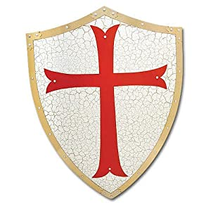 BladesUSA MC-4004 Medieval Shield 24-Inch x 18-Inch