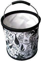 Presto Buckets, 2.9-Gallon, Black and White