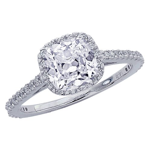 Chandni jewels cushion cut halo best amazon customer reviews