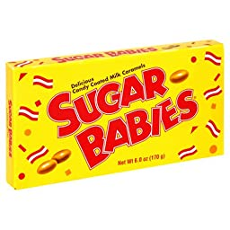 Sugar Babies, 6-Ounce Packages (Pack of 12)