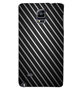SAMSUNG GALAXY NOTE EDGE STRIPES Back Cover by PRINTSWAG