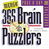 Mensa 365 Brain Puzzlers Page-A-Day Calendar 2009