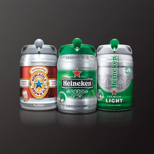 Heineken Keg Foam With Heineken Draught Keg
