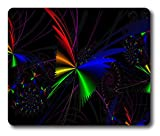 Online Designs Lighting effects Butterfly Square mouse pad gaming mousepad 9 * 7.5inch
