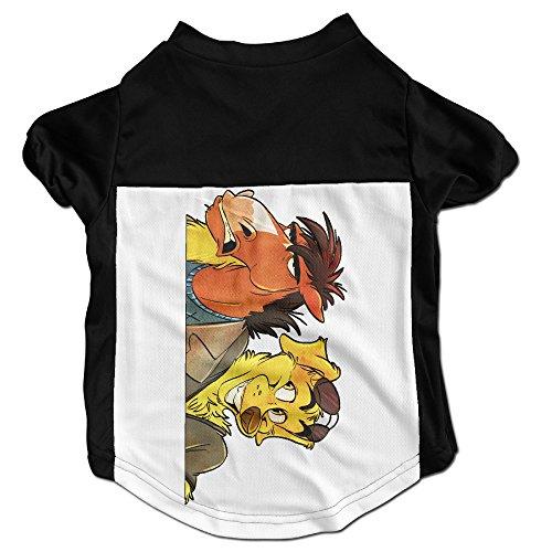 xj-cool-horsemam-pets-t-shirt-fur-kleine-hunde-schwarz