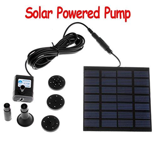 cybly (TM) Pompe solaire pour bassin Cycle de l'eau/fontaine/jardin fontaine, h4009