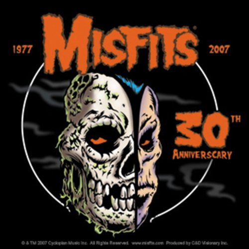 Licenses Products Misfits 30th Anniversary Logo Sticker - 1