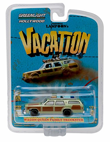 WAGON QUEEN FAMILY TRUCKSTER (Honky Lips Version) from NATIONAL LAMPOON'S VACATION * GL Hollywood Series 13 * 2016 Greenlight Collectibles 1:64 Scale Die Cast Vehicle