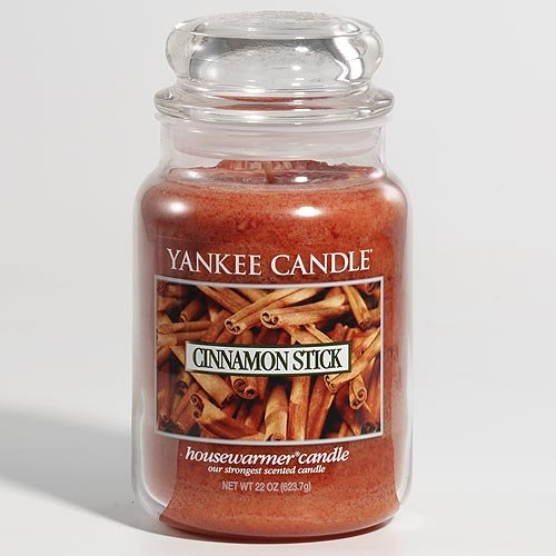 Yankee Candle 22-Ounce Jar Scented Candle, Large, Sparkling Cinnamon